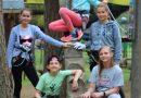 """5. klases audzēknes Daugavpils piedzīvojumu parkā """"Tarzāns"""""""