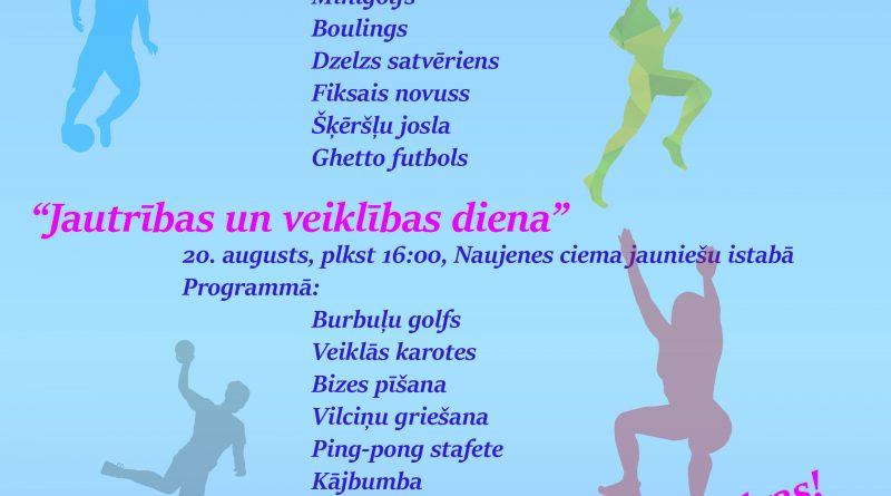 Naujenes pagasta bērnu un jauniešu sporta spēles