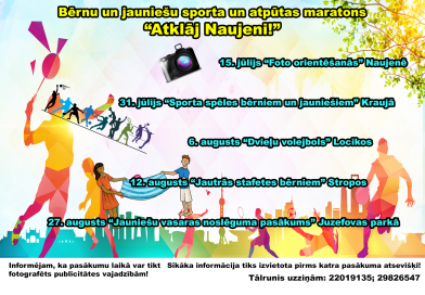 Bērnu un jauniešu sporta un atpūtas maratons
