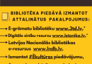 Līdz 15. novembrim bibliotēka slēgta!